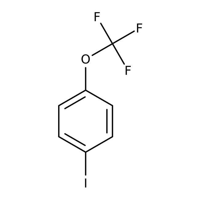 4-(Trifluoromethoxy)iodobenzene, 97%, ACROS Organics™ 5g 4-(Trifluoromethoxy)iodobenzene, 97%, ACROS Organics™