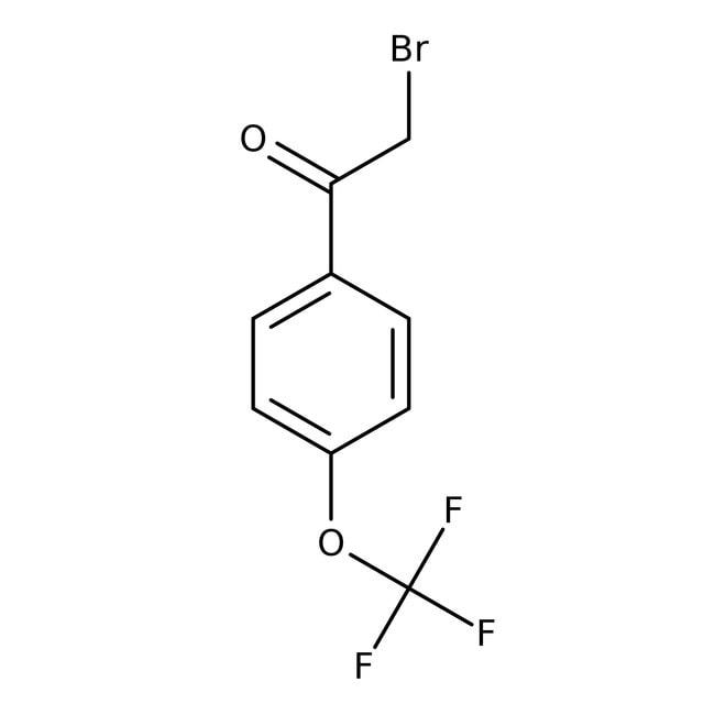 2-Bromo-1-[4-(trifluoromethoxy)phenyl]ethan-1-one, 97%, Maybridge 10g 2-Bromo-1-[4-(trifluoromethoxy)phenyl]ethan-1-one, 97%, Maybridge