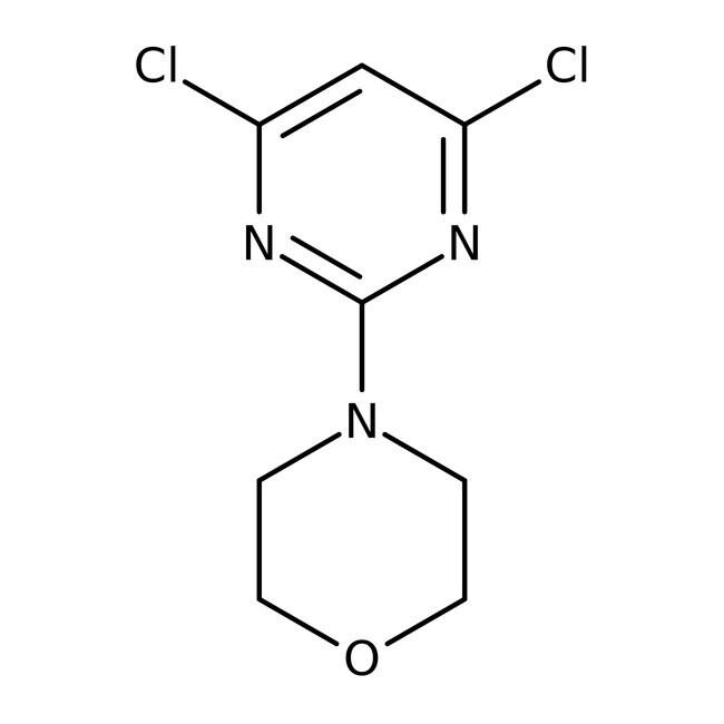 Alfa Aesar™4-(4,6-Dichloro-2-pyrimidinyl)morpholine, 97%