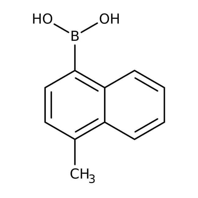 4-Methyl-1-naphthaleneboronic acid, 96%, ACROS Organics™