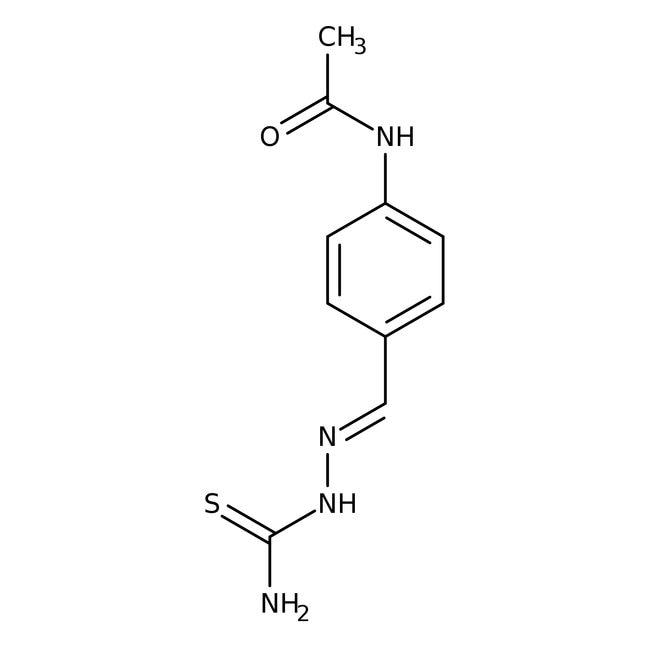 4-Acetylaminobenzaldehyde thiosemicarbazone, 98%, ACROS Organics