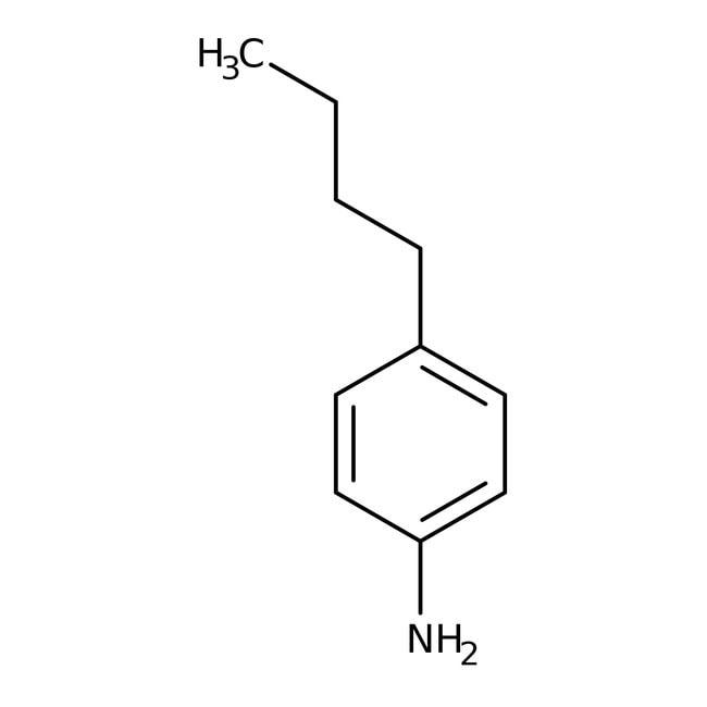 4-Butylaniline, 97%, ACROS Organics