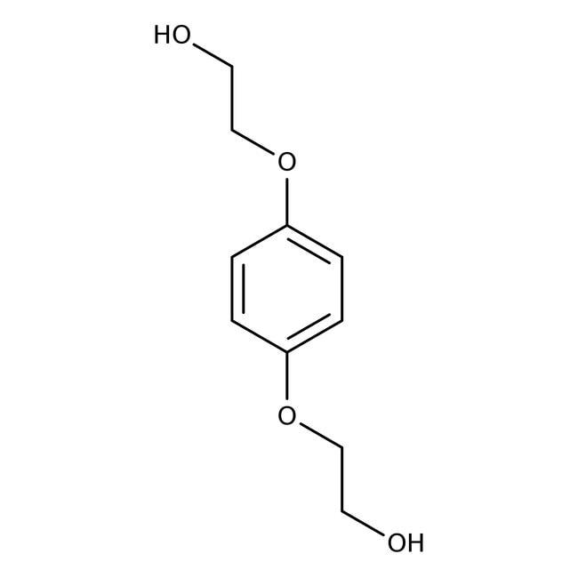 Hydrochinon bis(2-hydroxyethyl)ether, 99+%, ACROS Organics™ 1kg; Kunststoffflasche Hydrochinon bis(2-hydroxyethyl)ether, 99+%, ACROS Organics™