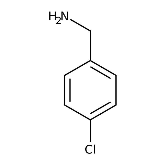 4-chlorobenzylamine, 98%, ACROS Organics™ 2.5g; Glass bottle 4-chlorobenzylamine, 98%, ACROS Organics™