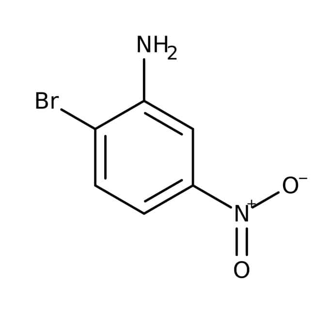 2-Bromo-5-nitroaniline, 98%, ACROS Organics™ 25g; Glass bottle 2-Bromo-5-nitroaniline, 98%, ACROS Organics™