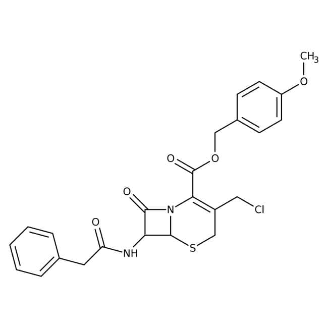 4-Methoxybenzyl 3-Chloromethyl-7-(2-phenylacetamido)-3-cephem-4-carboxylate 98.0+%, TCI America™