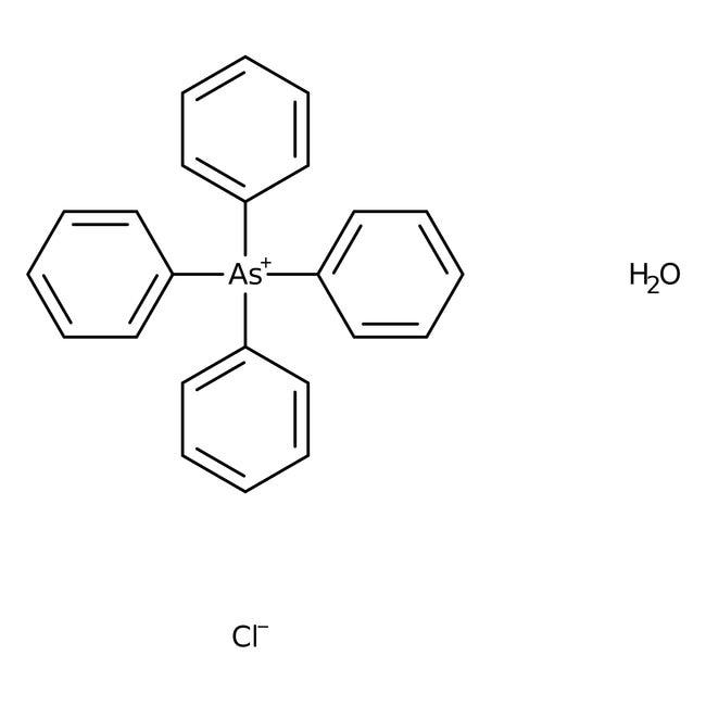 Tetraphenylarsonium chloride monohydrate, 97%, ACROS Organics