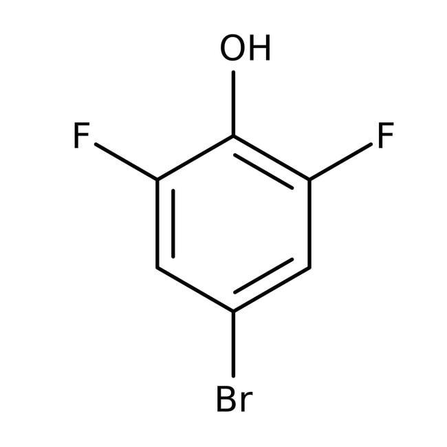 Alfa Aesar™4-Brom-2,6-difluorphenol, 97%: Bromophenols Halophenols
