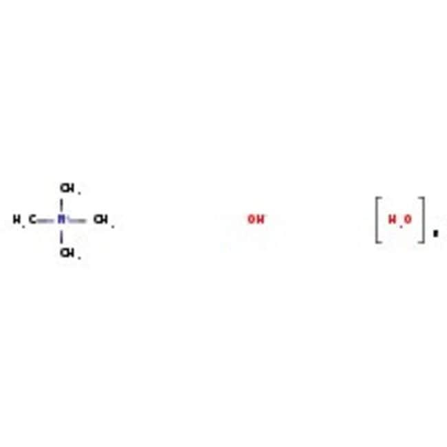 Tetramethylammonium hydroxide pentahydrate, 97%, ACROS Organics