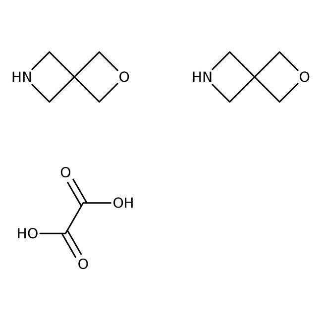 2-Oxa-6-azaspiro-[3.3]-heptanhemioxalat, 96%, Alfa Aesar™ 500mg 2-Oxa-6-azaspiro-[3.3]-heptanhemioxalat, 96%, Alfa Aesar™
