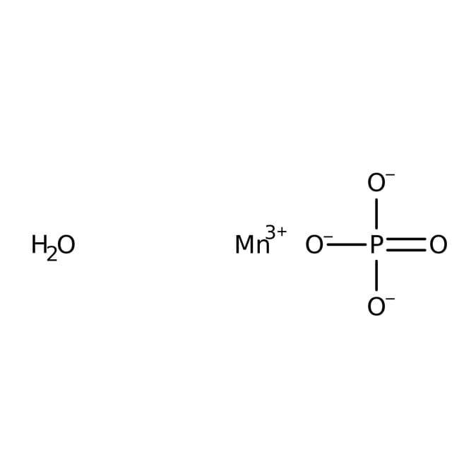 Alfa Aesar™Manganese(III) phosphate hydrate, 99% 10g Alfa Aesar™Manganese(III) phosphate hydrate, 99%