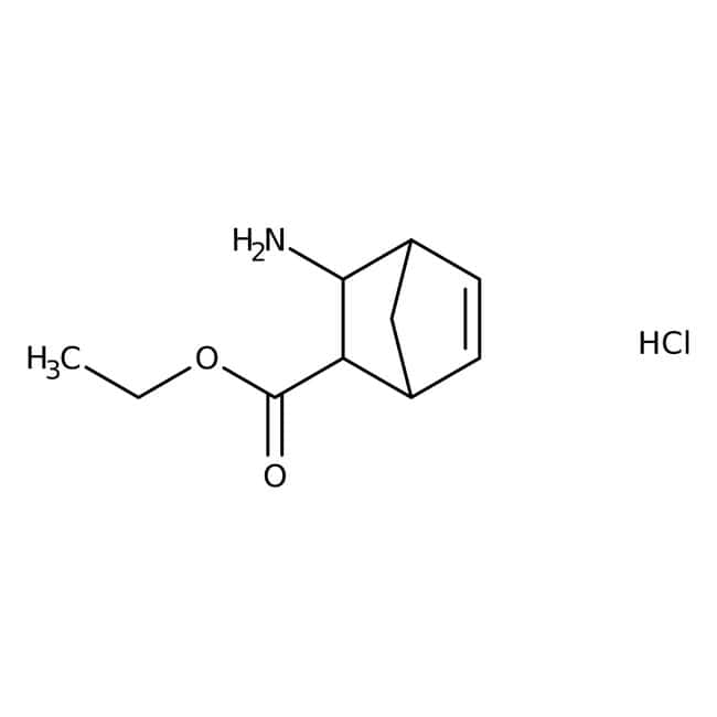 Ethyl 3-exo-aminobicyclo[2.2.1]hept-5-ene-2-exo-carboxylate hydrochloride, 99%, ACROS Organics™