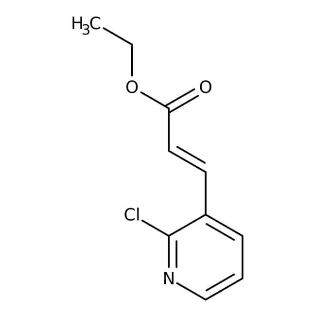 Alfa Aesar™3-(2-Cloro-3-piridil)acrilato de etilo 5g Alfa Aesar™3-(2-Cloro-3-piridil)acrilato de etilo