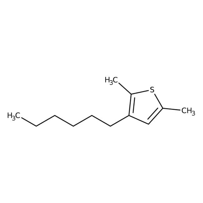 Alfa Aesar™Poly(3-hexylthiophene-2,5-diyl), regiorandom 500mg Alfa Aesar™Poly(3-hexylthiophene-2,5-diyl), regiorandom