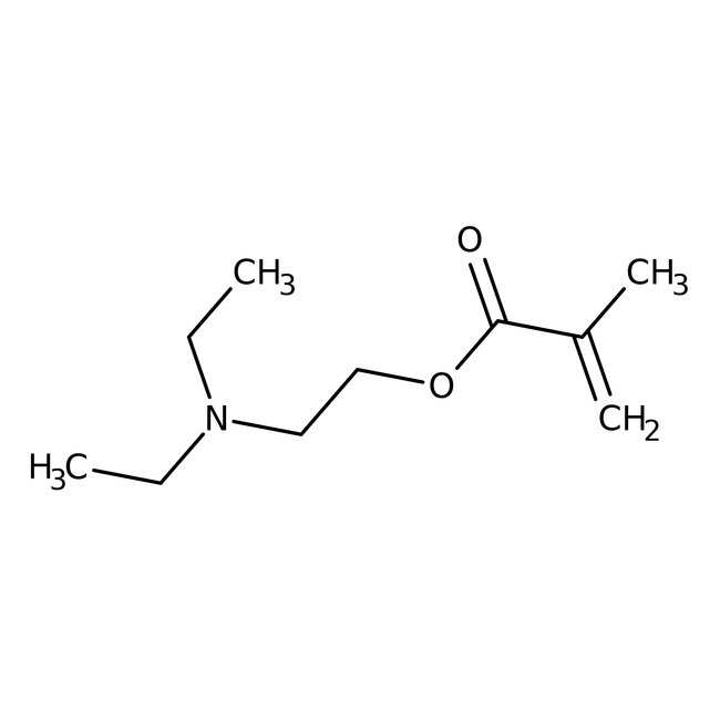 2-(Diethylamino)ethyl Methacrylate (stabilized with MEHQ) 98.5+%, TCI America™