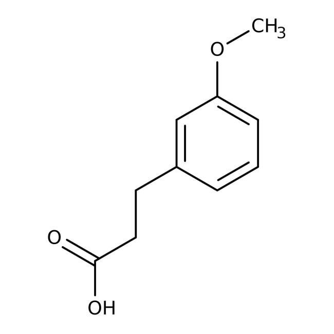 3-(3-Methoxyphenyl)propionsäure, 99%, Acros Organics™ 25g 3-(3-Methoxyphenyl)propionsäure, 99%, Acros Organics™