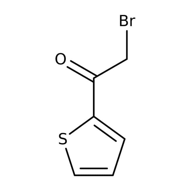 2-Bromo-1-(2-thienyl)-1-ethanone, Technical Grade, Maybridge™ Amber Glass Bottle; 250mg 2-Bromo-1-(2-thienyl)-1-ethanone, Technical Grade, Maybridge™