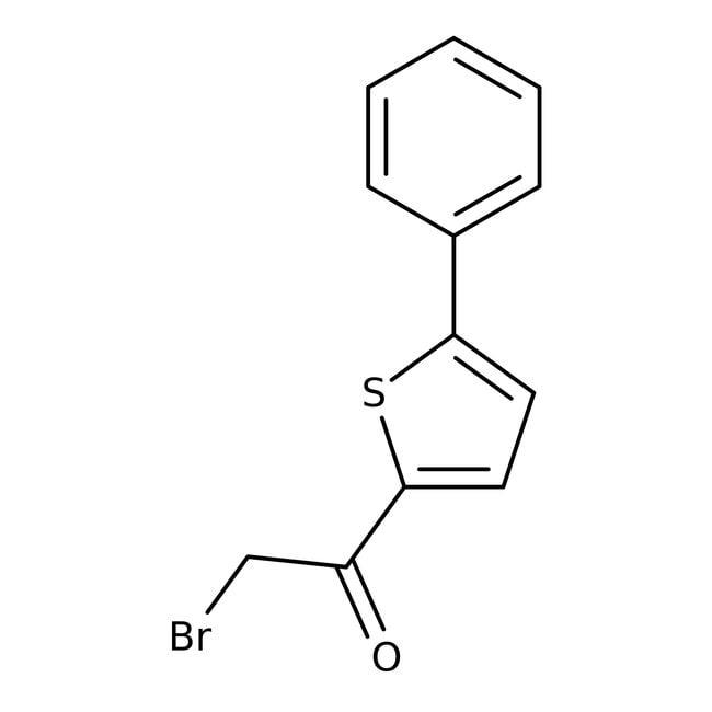 2-Bromo-1-(5-phenyl-2-thienyl)-1-ethanone, 95%, Maybridge