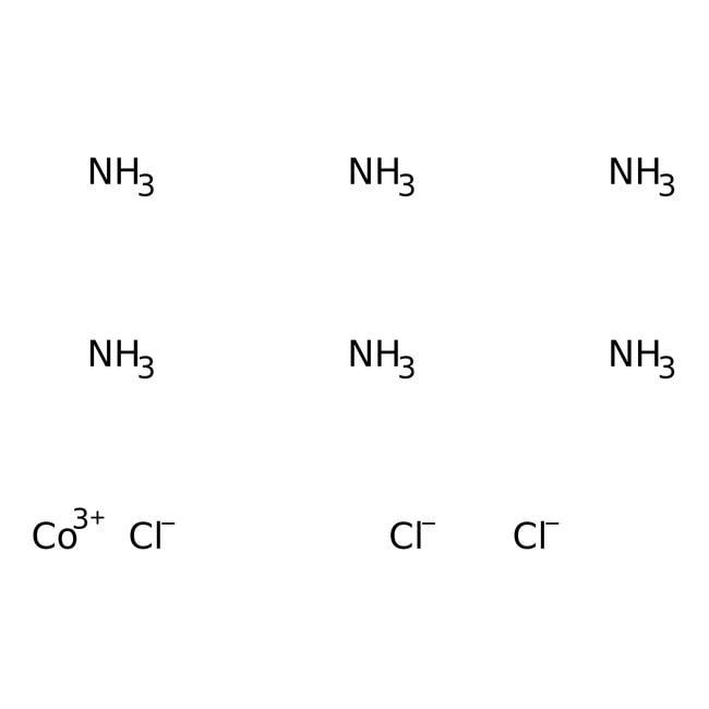 Alfa Aesar™Hexaamminecobalt(III) chloride, 99% 100g Alfa Aesar™Hexaamminecobalt(III) chloride, 99%