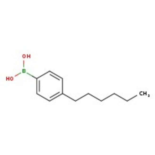 Alfa Aesar™4-n-Hexylbenzeneboronic acid, 97% 1g Alfa Aesar™4-n-Hexylbenzeneboronic acid, 97%