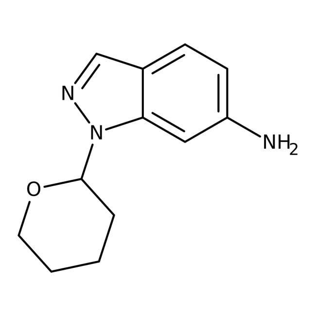 6-Amino-1-(tetrahydro-2H-pyran-2-yl)-1H-indazol, 97%, ACROS Organics™ 1g 6-Amino-1-(tetrahydro-2H-pyran-2-yl)-1H-indazol, 97%, ACROS Organics™