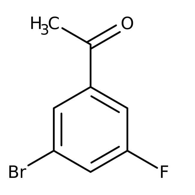 Alfa Aesar™3'-Bromo-5'-fluoroacetophenone, 96% 250mg Alfa Aesar™3'-Bromo-5'-fluoroacetophenone, 96%