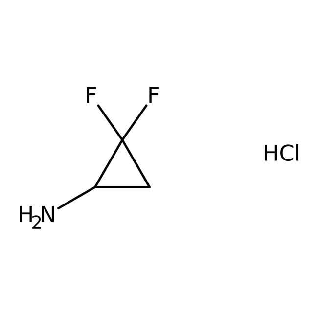 Alfa Aesar™Clorhidrato de 2,2-difluorociclopropilamina, 97% 100mg Alfa Aesar™Clorhidrato de 2,2-difluorociclopropilamina, 97%