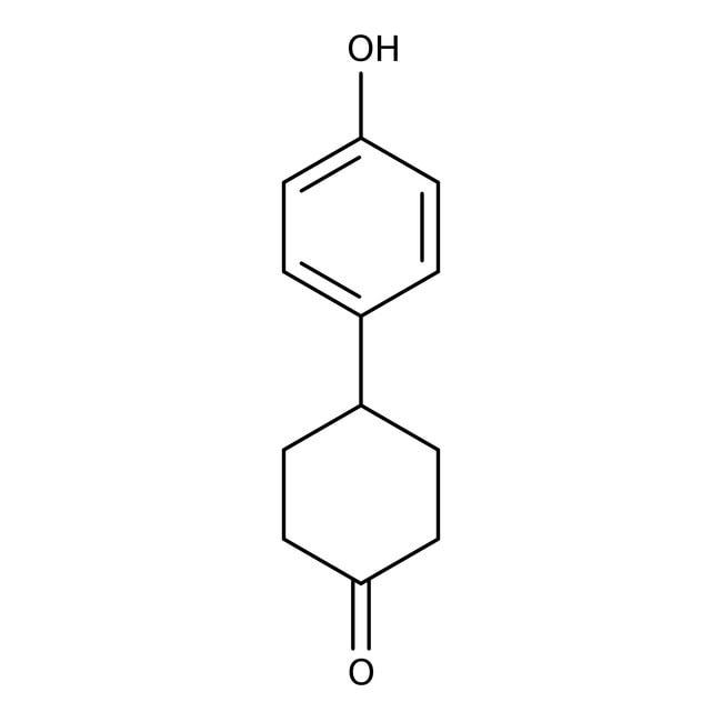 Alfa Aesar™4-(4-Hydroxyphenyl)cyclohexanone, 97+%