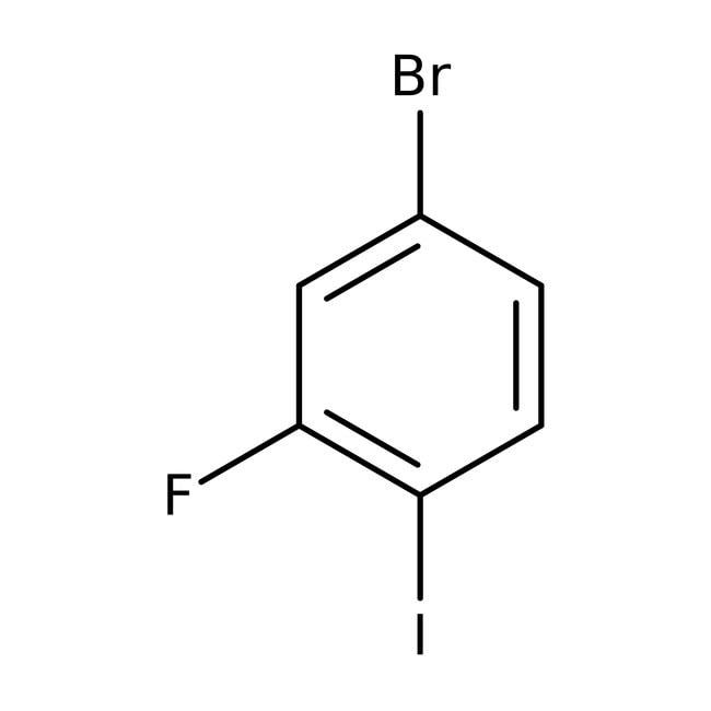 1-Bromo-3-fluoro-4-iodobenzene, 99+%, ACROS Organics™