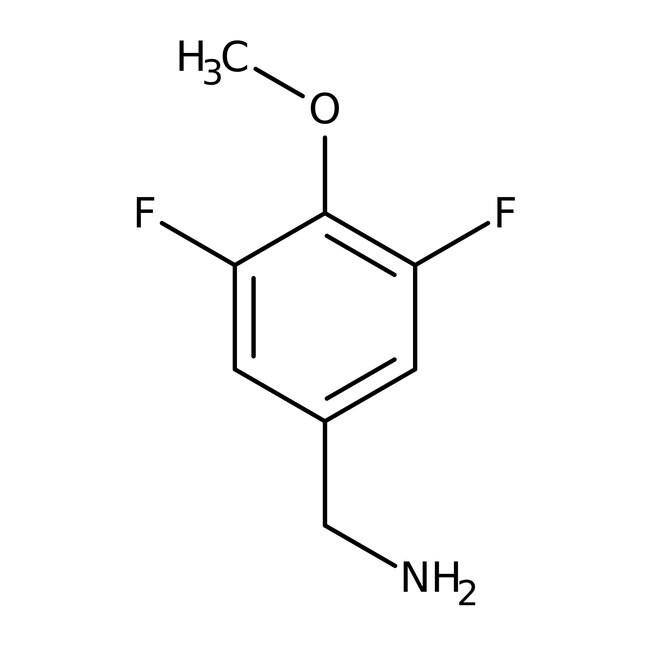 Alfa Aesar™3,5-Difluoro-4-methoxybenzylamine, 97% 250mg prodotti trovati