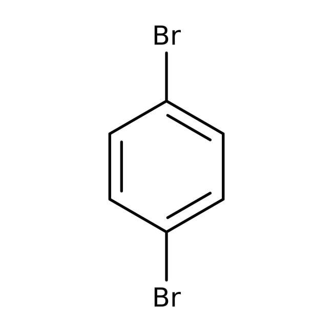 1,4-Dibrombenzol, 99%, ACROS Organics™ 250g; Kunststoffflasche 1,4-Dibrombenzol, 99%, ACROS Organics™
