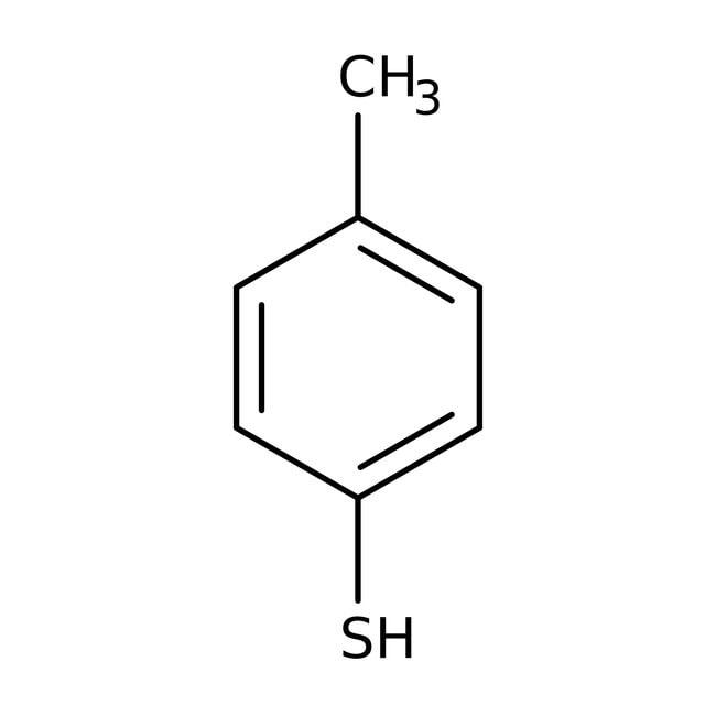 p-Toluenethiol, 98%, ACROS Organics™ 2.5kg p-Toluenethiol, 98%, ACROS Organics™