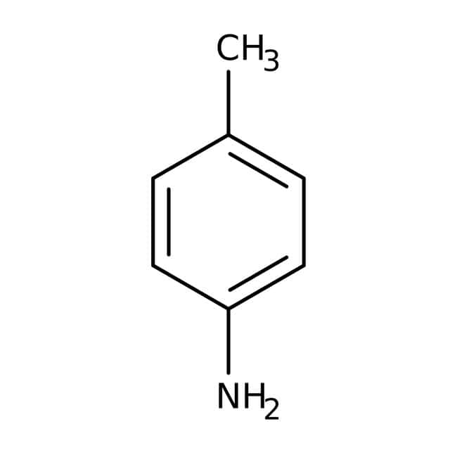 p-Toluidine, 99%, crystalline molten mass, ACROS Organics™ 250g prodotti trovati