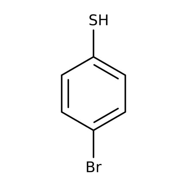 4-Bromothiophenol, 95%, ACROS Organics™ 25g; Glass bottle 4-Bromothiophenol, 95%, ACROS Organics™