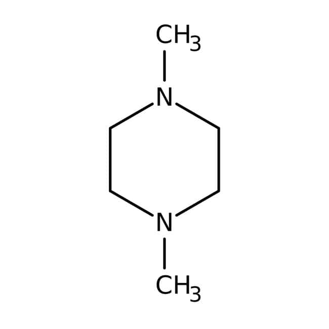 N,N'-Dimethylpiperazine, 98.5%, Acros Organics 100mL; Glass bottle N,N'-Dimethylpiperazine, 98.5%, Acros Organics
