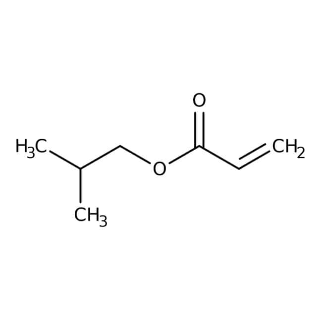 Alfa Aesar™Isobutyl acrylate, 99%, stab with 100ppm 4-methoxyphenol
