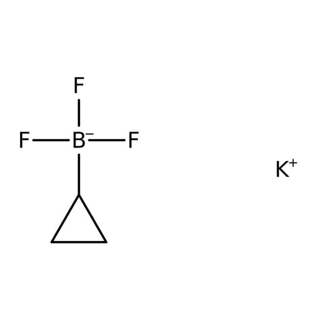 Potassium cyclopropyltrifluoroborate, 97%, ACROS Organics™