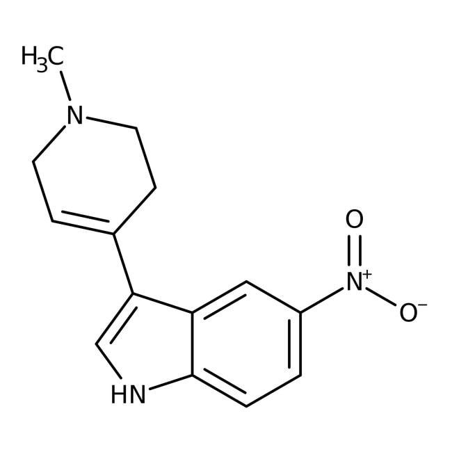 Alfa Aesar™3-(1-Methyl-1,2,3,6-Tetrahydro-4-Pyridyl)-5-Nitroindol, 97% 5g Produkte