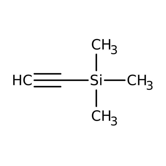 Trimethylsilylacetylen, 98%, ACROS Organics™ 100g; Glass bottle Produkte