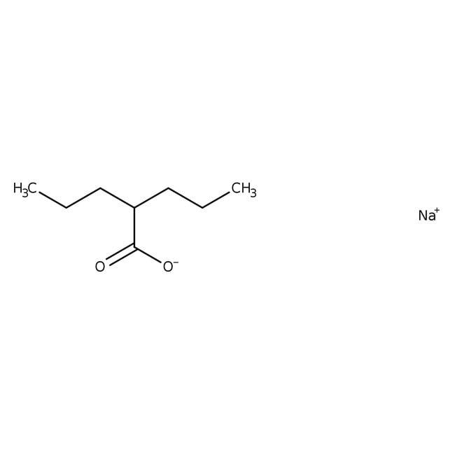 2-Propylpentanoic acid, sodium salt, 98%, ACROS Organics™