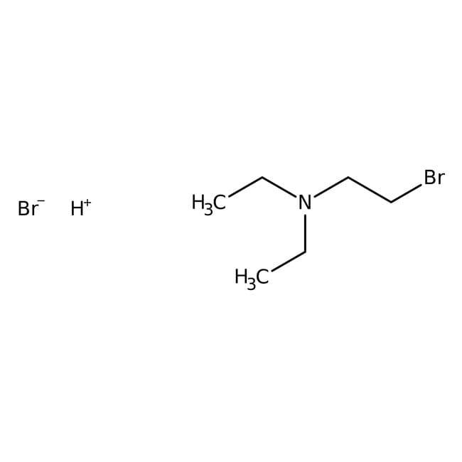 2-Bromo-N,N-diethylethylamine hydrobromide, 98%, ACROS Organics™ 25g; Glass bottle 2-Bromo-N,N-diethylethylamine hydrobromide, 98%, ACROS Organics™