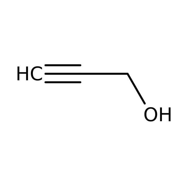 Alcohol propargílico, 99% ACROS Organics™ 500ml Alcohol propargílico, 99% ACROS Organics™
