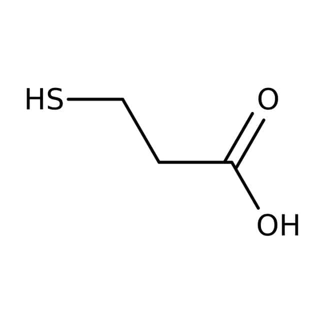 3-Mercaptopropionic acid, 99+%, ACROS Organics™