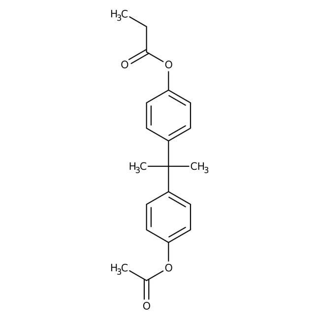 Alfa Aesar™Bisphenol A-Acetatpropionat, Epoxidharz, EC-326 25g Produkte