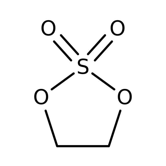1,3,2-Dioxathiolane 2,2-dioxide, 96%, ACROS Organics™ 5g; Glass bottle 1,3,2-Dioxathiolane 2,2-dioxide, 96%, ACROS Organics™