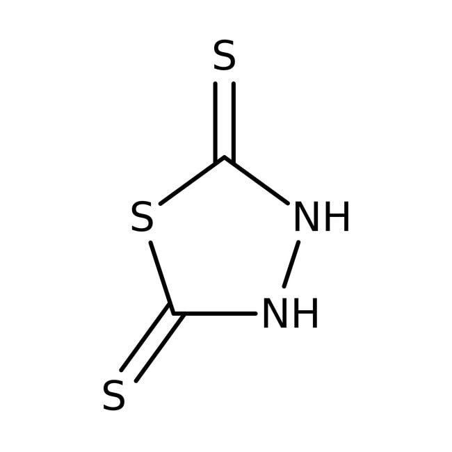 2,5-Dimercapto-1,3,4-thiadiazole, 98%, ACROS Organics™ 100g; Plastic bottle 2,5-Dimercapto-1,3,4-thiadiazole, 98%, ACROS Organics™