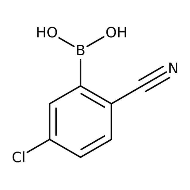 Alfa Aesar™5-Chloro-2-cyanobenzeneboronic acid, 98%