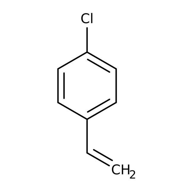 4-Chlorostiren, stabilisiert in 99%, Acros Organics™ 50 g-Glasflasche 4-Chlorostiren, stabilisiert in 99%, Acros Organics™