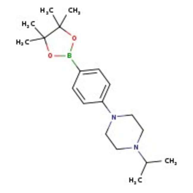 4-(4-Isopropylpiperazin-1-yl)phenylboronic acid pinacol ester, 97%, Acros Organics