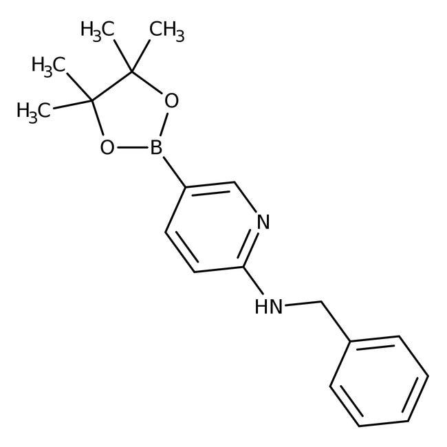 Alfa Aesar™6-(Benzylamino)pyridine-3-boronic acid pinacol ester, 95% 250mg Alfa Aesar™6-(Benzylamino)pyridine-3-boronic acid pinacol ester, 95%